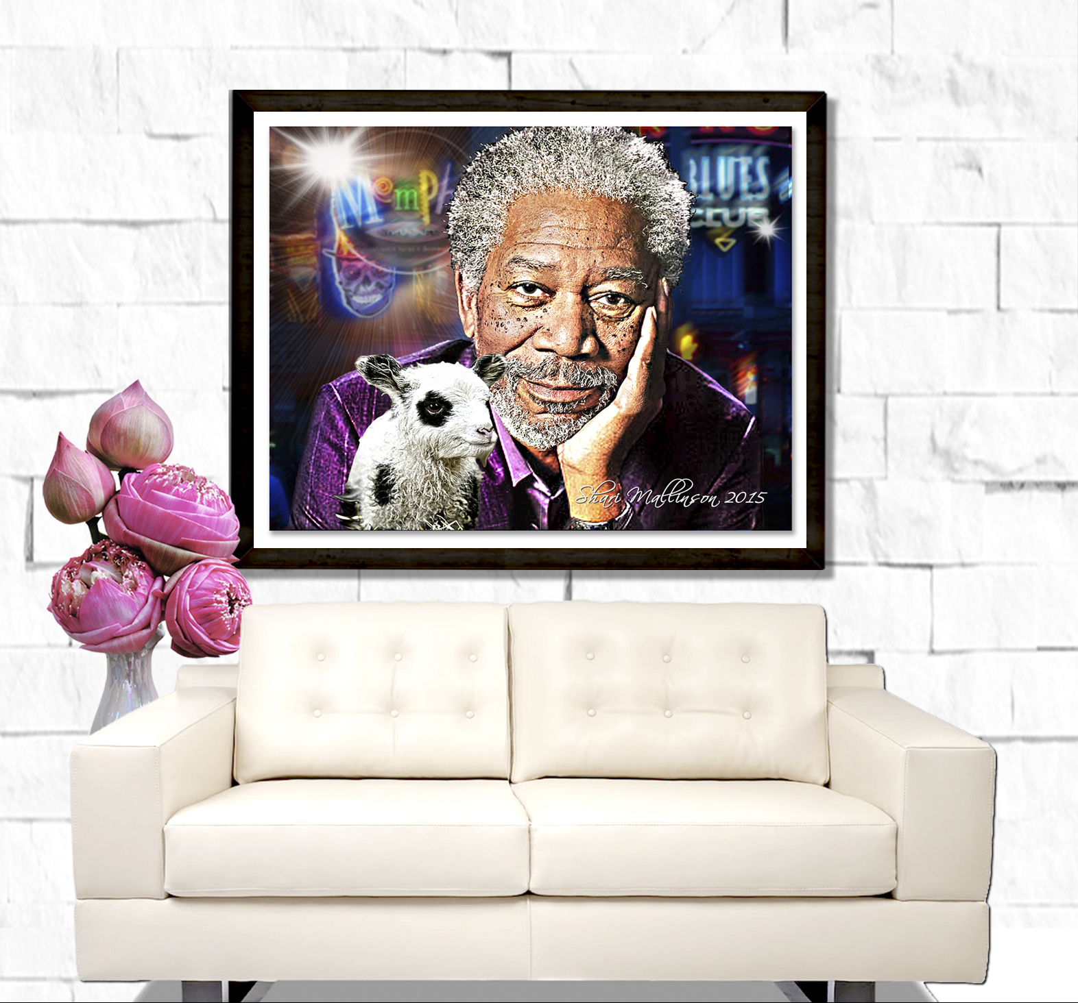 Morgan Freeman Portrait