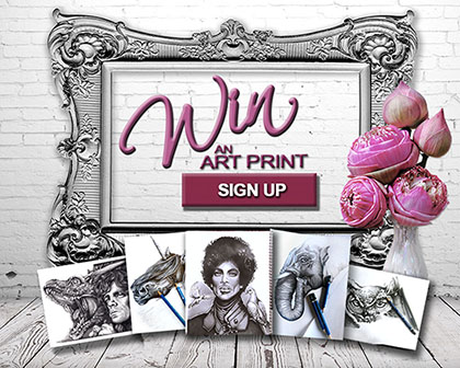 Win a Shari Mallinson Artist Art Print Sign Up