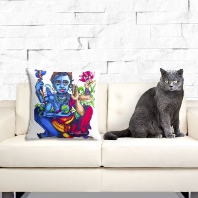 Vishnu, Throw Pillow Cover