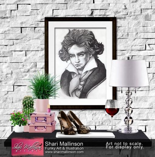 Ludwig van Beethoven, Print