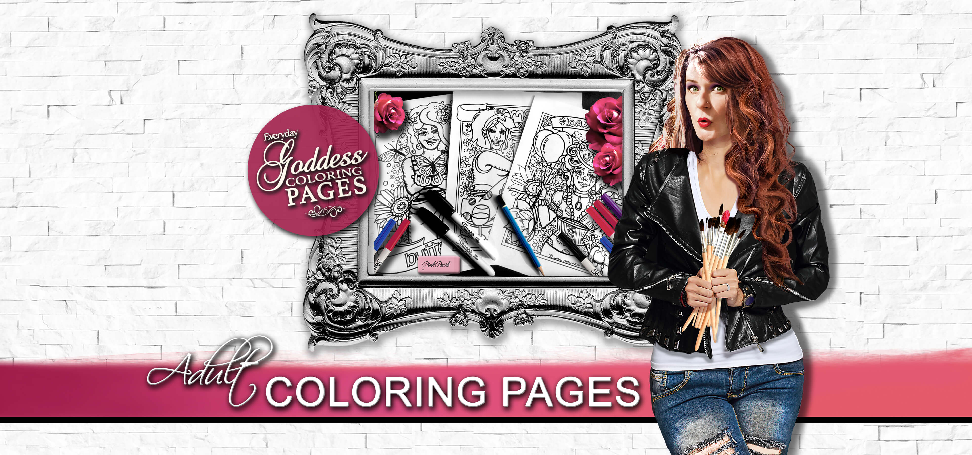 Shari Mallinson Artist, Adult Coloring Pages