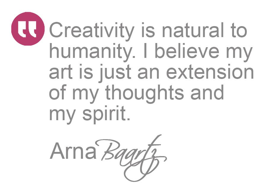 Arna Baartz Quote