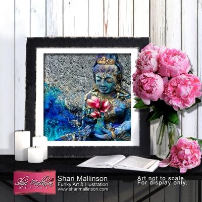 Water Quan Yin, Print