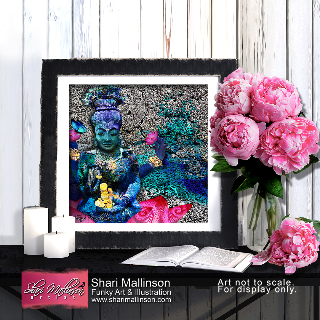 Water Lakshmi, Print