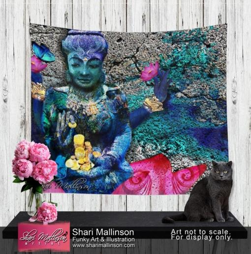 Water Lakshmi, Tapestry