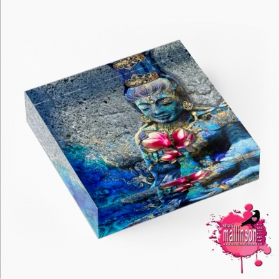 Water Quan Yin Art Prism